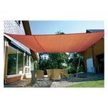EDUPLAY 160131 Sonnenschutz Sonnensegel, 6x4m, Rechteck, wasserabweisend, rostrot (1 Stück)