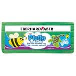 Eberhard Faber 571663 Pluffy Super Soft Knete für Kinder, grün (119 g)