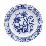 Triptis 1350380670019116 Romantika Zwiebelmuster Frühstücksteller Ø 19 cm, Porzellan, weiß/blau