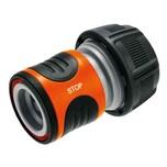GARDENA 18214-50 Wasserstop 19mm lose, schwarz/grau/orange (1 Stück)