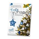 Folia 25039 Fancy Shapes Set, Weihnachten II Winterklang, mehrfarbig, 508-teilig (1 Set)