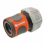 GARDENA 18216-50 Schlauchverbindung 19mm lose, grau/orange