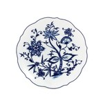 Triptis 1350380670819116 Romantika Zwiebelmuster Frühstücksteller Ø 19 cm Porzellan weiß/blau 1 Stück