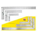 Easy Work Anschlagwinkelsatz 150 mm, 250 mm & 500 mm. Zunge Edelstahl, Anschlag Aluminium, silber, 3-teilig (1 Set)