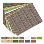Folia 48199 Motivpapier Strukturen, 80 g/m², 50 x 70 cm, 13 Motive, mehrfarbig, 13-teilig (1 Set)