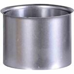 FIREFIX A150/WD Ofenrohr Doppelwandfutter FAL Ø 150 mm, grausilber