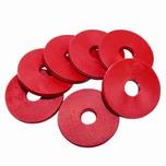 Bormioli Rocco 220-GUMRISWI435 Swing Gummiringe für Bügelverschlußflaschen rot 50er Pack