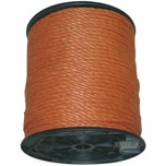 REWWER-TEC 858-725 PP-Seil a.Trommel 6mm200m orange, orange (200 m)