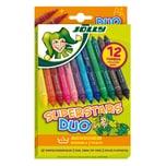 Jolly 4425-0001 Superstars DUO Filzstifte, mehrfarbig (12er Pack)
