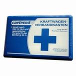 Cartrend 770-0126 Verbandskasten Classic PVC-Koffer, blau