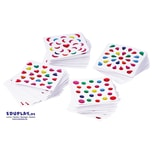 "EDUPLAY 360039 Mini-Sticker ""Megapack"", 2400-teilig (1 Set)"