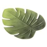 """Boltze 1002856 Tischset """"Blatt Ficus"""" Kunststoff 48 x 38 cm grün 1 Stück"""