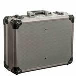 Ironside 191-005 Alu Werkzeugkoffer Profi ABS, 450x330x145mm, silber-grau/schwarz