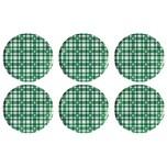 EINKOCHWELT 30428 Twist-off Deckel, sterilisationsfest 82 mm, grün/weiß (6er Pack)