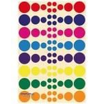 EDUPLAY 200135 Sticker Kreise, 640-teilig (1 Set)