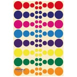EDUPLAY 200135 Sticker Kreise, 640-teilig (1 Set)