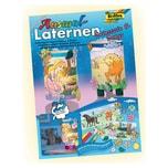 Folia Ausmal Laternen Bastel Set, Prinzessin & Ponys, mehrfarbig, 222-teilig (1 Set)