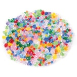 EDUPLAY 200130 Acryl-Diamanten-Mix, transparent/bunt (500 g)