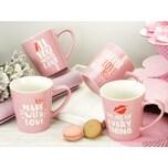 CreaTable 20896 LOVE COLLECTION Kaffeebecher 4-teilig 1 Set