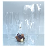 Folia Bodenbeutel unbedruckt, 95x160mm, transparent (100er Pack)