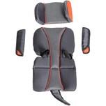 Burley Sitzpolster-Set Premium Cub X Atomic Red, grau/rot (1 Set)