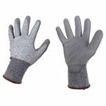 Ironside 200-021 Arb.Handsch.schnittf.Gr9 PU beschichtet, grau (1 Paar)
