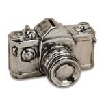 Spardose Kamera Keramik 16 x 12 x 10 cm silber 1 Stück