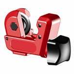 Ironside 100-345 Mini-Rohrabschneider 3-16 mm, rot