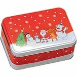 Kesper 382-41 Weihnachtsdose Motiv: Happy Christmas 1 Stück