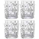 "Nachtmann 00-99503-0 Whiskybecher ""Punk"" Glas 348 ml klar 4er Pack"