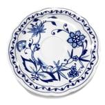Triptis 13503806747317 Romantika Zwiebelmuster Kaffee-Untertasse, Ø 15 cm, Porzellan, weiß/blau