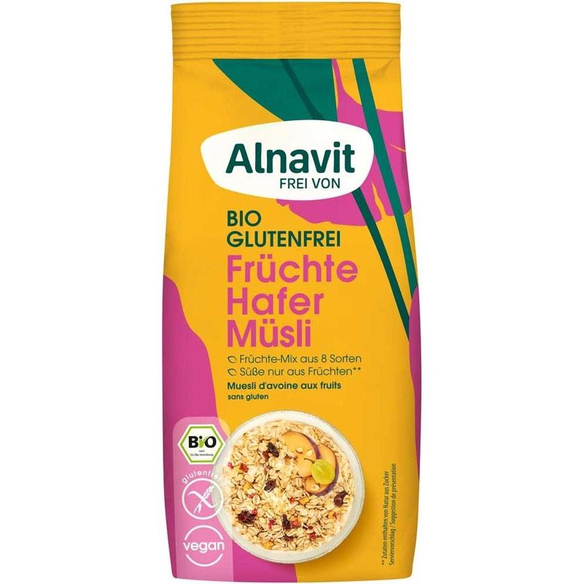 Alnavit Hafer Früchte Müsli bio 350g