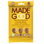 MadeGood Chocolate Banana Müsli Minis Snack bio 24g