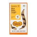 Werz Hirse-Kokos-Zungen bio 150g