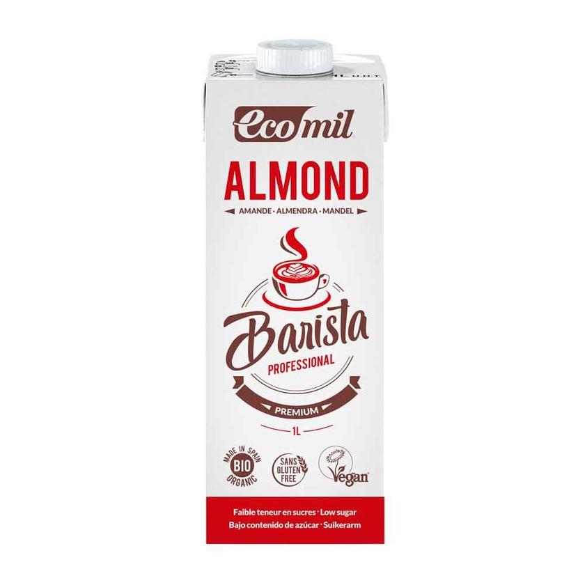 EcoMil Mandeldrink Barista bio 1l