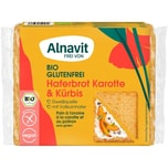 Alnavit Bio Haferbrot Karotte & Kürbis 250g