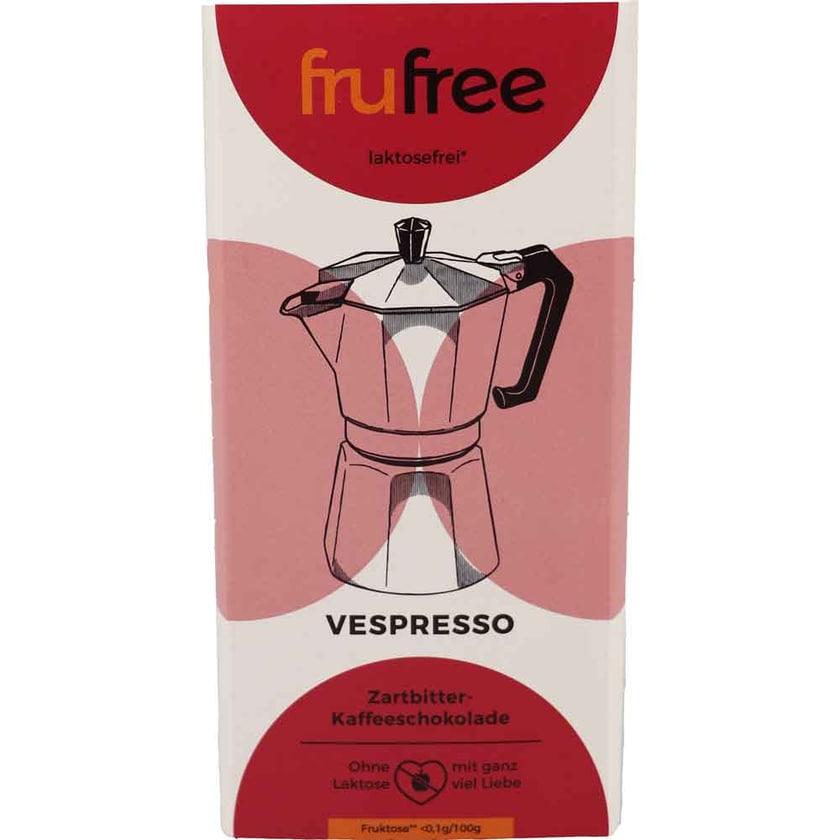 frufree Zartbitter-Kaffeeschokolade 90g