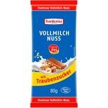 Frankonia Dextrose Vollmilch-Nuss Schokolade 80g