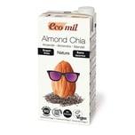 EcoMil Mandeldrink-Chia zuckerfrei bio 1l