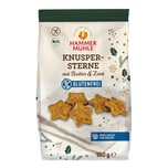 Hammermühle Knuspersterne mit Butter & Zimt bio 150g