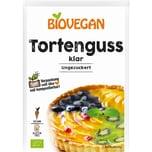 Biovegan Tortenguss klar bio 2x6g