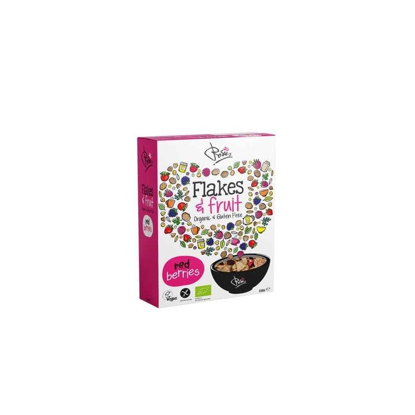 Rosies Flakes & Fruit Rote Beeren bio 250g