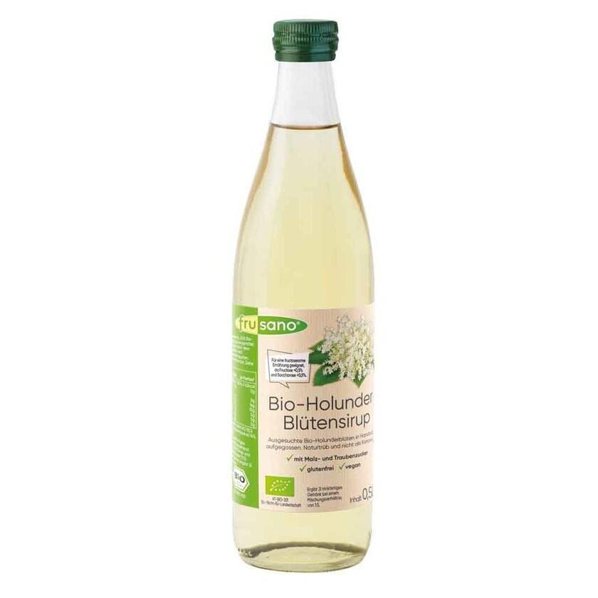 Frusano Bio-Holunderblütensirup 0,5l