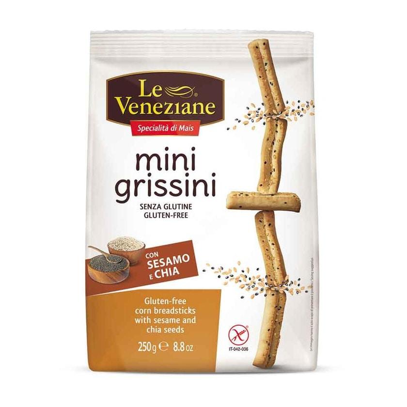 Le Veneziane Mini Grissini Sesam & Chia 250g