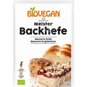 Biovegan Meister Backhefe bio 7g