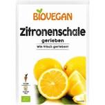 Biovegan Zitronenschale gerieben bio 9g