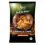 biozentrale Tortilla Chips Mais & Paprika bio 125g