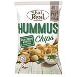 Eat Real Kichererbsen Chips Sour Cream & Schnittlauch Snack 45g