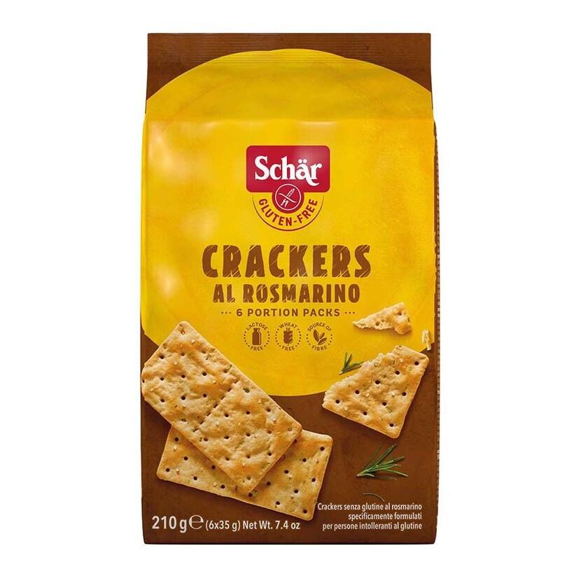 Schär Crackers al Rosmarino 210g