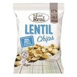 Eat Real Linsen Chips Meersalz Snack 40g